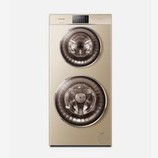 卡薩帝全自動烘干機變頻洗衣機滾筒洗烘 C8 HU12G3 香檳金(Casarte)