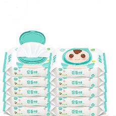 【韩国】 顺顺儿绿色系列婴儿湿纸巾实惠装 L4 80片