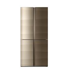 星星(XINGX)智能風冷對開門冰箱 鋼化玻璃面板 BCD-463WDK