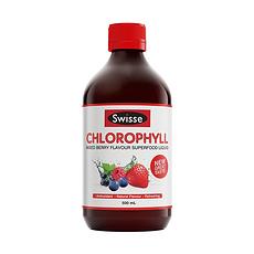 【澳大利亚】swisse 叶绿素液 梅子味 500ML(香港直邮)