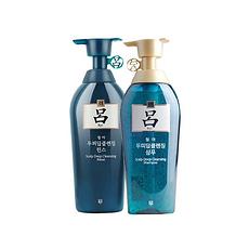韓國 RYOE呂 綠呂 含光耀護損傷修護 洗發水400ML+護發素400ML 組合裝 保稅區郵