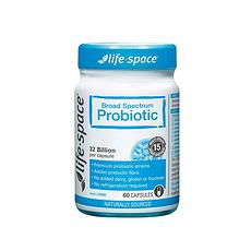 【澳大利亚】life space 益生菌胶囊  调理肠胃 成人益生菌 60粒/瓶 (香港直邮)