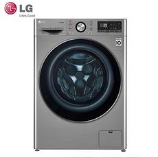 LG 10.5公斤DD变频直驱全自动智能滚筒洗衣机 蒸汽除菌消毒洗 速净喷淋 超薄家用FG10TV4 FG10TV4碳晶银360°