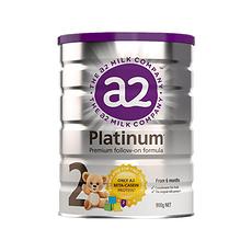 【新西兰】A2 白金版婴幼儿配方奶粉 2段(6个月以上) 900g (万博Manbetx官网仓发货)