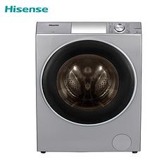 海信(Hisense) XQG100-UH1406YF 10公斤 滚筒 洗衣机 悬浮烘干 幻影灰