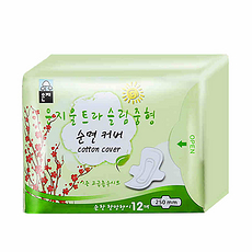【韩国】恩芝 超薄日用卫生巾250mm