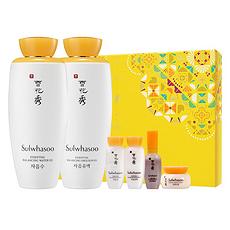 (韩国)SULWHASOO雪花秀 滋盈肌本润颜水乳两件套 香港直邮