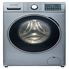 美菱(MELING) 10公斤 大容积 洗烘一体 污渍洗 MG100-1431BHAGX洗衣机 恒温