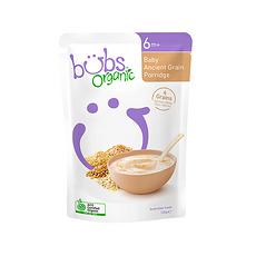 2袋【澳大利亚】Bubs贝儿 有机婴儿混合古谷米粉2段(6个月以上)125g/袋 万博Manbetx官网仓发货