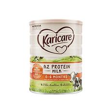 2罐裝【新西蘭】可瑞康 A2蛋白嬰幼兒奶粉1段(0-6個月)900g/罐(保稅倉發貨)