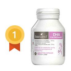 【澳大利亞】佰澳朗德 Bio Island 孕婦專用海藻油DHA 60粒/瓶  香港直郵
