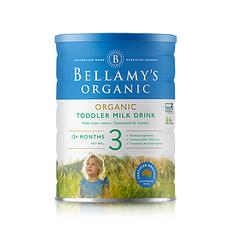 3罐【澳大利亚】贝拉米 有机婴儿奶粉3段(1岁以上) 900g (澳洲直邮)
