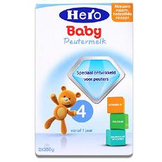 2盒【荷兰】Hero Baby美素 天赋力奶粉4段(12-24个月宝宝)700g (万博Manbetx官网仓发货)