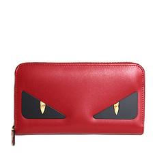 QHSS19 Fendi 芬迪 女士红色拉链款钱包 8M0299-A5PM-F0MVV