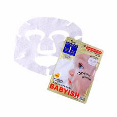 日本 KOSé高絲 BABYISH嬰兒肌面膜 高保濕潤澤型 7片 保稅發貨