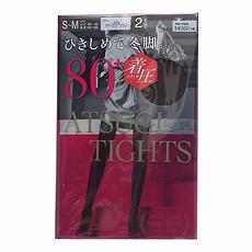 日本 ATSUGI厚木 秋冬光发热保暖连裤袜 80D 236棕色 2双 S-M 万博Manbetx官网区邮