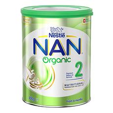 3罐装【瑞士】雀巢 有机奶粉2段(6-12个月) 800g/罐(澳洲直邮)