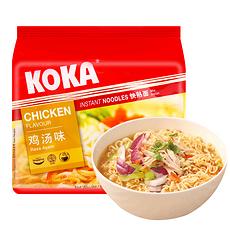 【新加坡】可口 鸡汤面 85g*5袋
