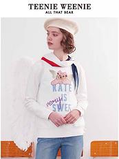 TEENIE WEENIE2020天使翅膀卫衣白色