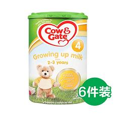 6罐【英国】牛栏 婴幼儿配方奶粉4段(2-3岁) 800g (英国直邮)