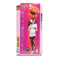 日本 TRAIN 粉盒 女の欲望 发热显瘦打底连裤袜 200D 黑色 L-LL 万博Manbetx官网区邮