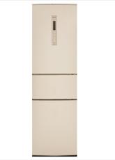 松下(Panasonic)NR-C320WPN-N三门风冷无霜变频冰箱318L金色