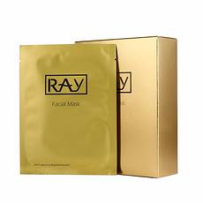 3件装 泰国 【泰版】RAY 金色修复痘印提拉紧致面膜 10片 万博Manbetx官网区邮