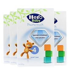 4盒【荷兰】Hero Baby美素 婴儿奶粉4段(12-24个月宝宝)700g (荷兰直邮)