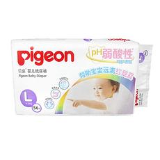贝亲 婴儿纸尿裤L56片