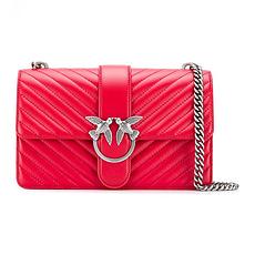 Pinko 品高 红色女士单肩包挎包 1P21HG-Y5V1-R60 香港直邮