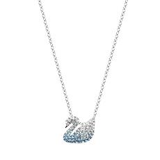 【19年限量新款】Swarovski 施华洛世奇 渐变蓝色天鹅项链女 锁骨链女(小号)SWK-5512094