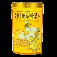 【韩国】汤姆农场 蜂蜜黄油扁桃仁 80g