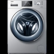 海尔(Haier)10公斤 滚筒洗衣机 直驱变频 超薄 空气洗紫外线除菌全自动 XQG100-HB14876LU1