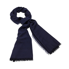 Salvatore Ferragamo 菲拉格慕 女士藍色絲巾 52-6940-658961