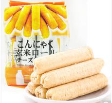 【台湾】北田 蒟蒻糙米卷芝士口味160g
