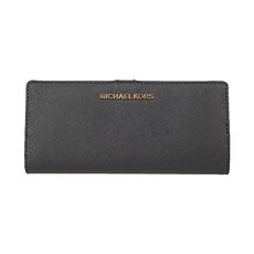 MichaelKors迈克·科尔斯 女士长款钱包钱夹 35S9GTVF8LBLACK 美国直邮
