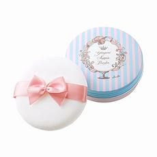 日本 CLUB 出浴素顏粉餅蜜粉 藍盒玫瑰香 26G 香港直郵
