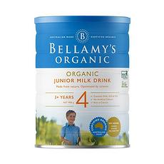 3罐裝【澳大利亞】貝拉米 有機嬰兒奶粉4段(3歲以上)900g (保稅倉發貨)