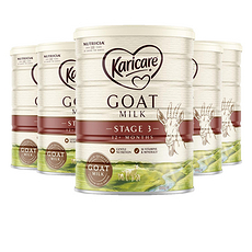 6罐裝【新西蘭】可瑞康Karicare 嬰兒羊奶3段(12個月以上)900g (澳洲直郵)