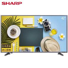 夏普 42ZAB 42英寸高清智能网络液晶家用平板电视
