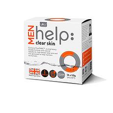【英國】help: clear skin 男性祛痘粉14包包裝(香港直郵)