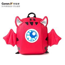 卡拉羊 小恶魔防走失反光标小童包 CX6098(亮红色)(国内发货)