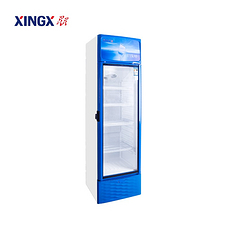 星星(XINGX)LSC-339FC 339升 饮料商用展示柜 立式冰柜冷藏保鲜柜 超市单门玻璃节能大型冷柜冰箱