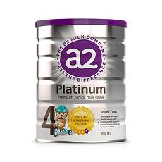 2罐【新西兰】A2 白金婴儿奶粉4段(3岁以上)900g (澳洲直邮)