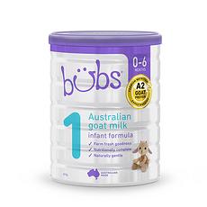 3罐裝【澳大利亞】貝兒 羊奶粉1段(0-6個月)800g 澳洲直郵