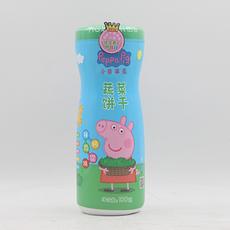 【中国】亿智小猪佩奇蔬菜饼干-瓶装 100g