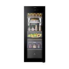 卡萨帝(Casarte)家用冰吧冷柜172升立式玻璃门酒柜茶叶柜保 LC-172WBU1