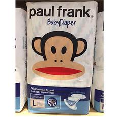 Paul frank 大嘴猴 薄护干爽纸尿裤L52片