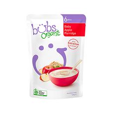 2袋【澳大利亚】Bubs贝儿 有机婴儿苹果燕麦粉2段(6个月以上)125g/袋 万博Manbetx官网仓发货