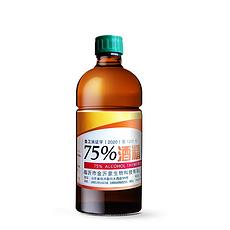 中國 金沂蒙 75%酒精消毒液殺菌防疫 500ML 國內發貨